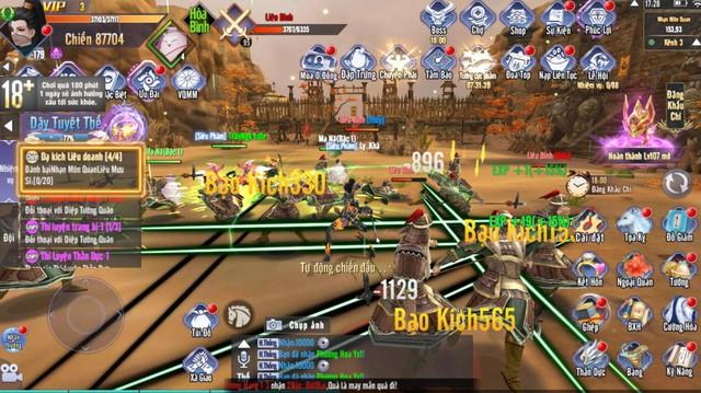 """3h sáng vào game đi nhiệm vụ vẫn không có đất """"farm quái"""": Kiếm Tung 3D lần lượt công phá các BXH trên CH Play và App Store - Ảnh 10."""