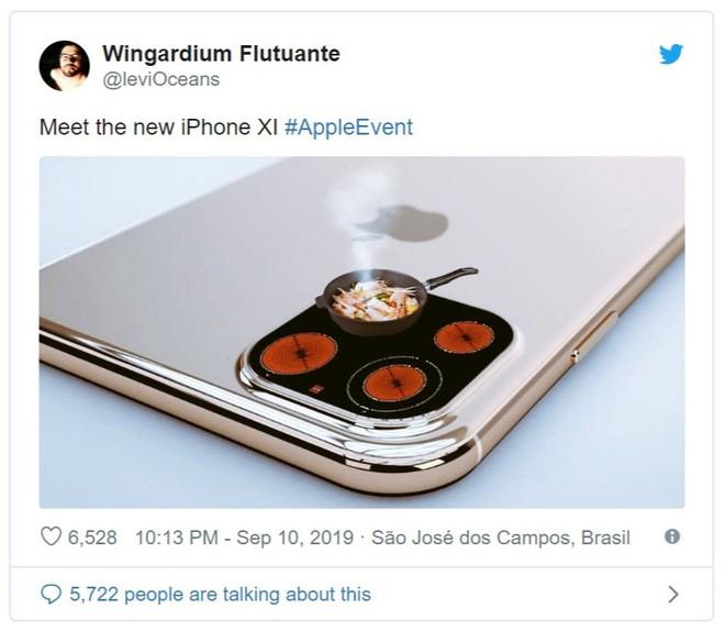 Không cần antifan phải chọc ngoáy, tự Apple biết cách đùa với cụm camera mới trên iPhone 11 - Ảnh 2.