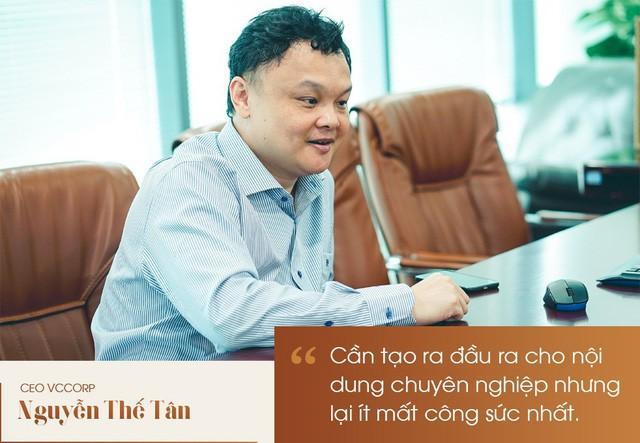 CEO Nguyễn Thế Tân : mạng xã hội Lotus là cuộc đua tất tay của VCCorp - Ảnh 3.