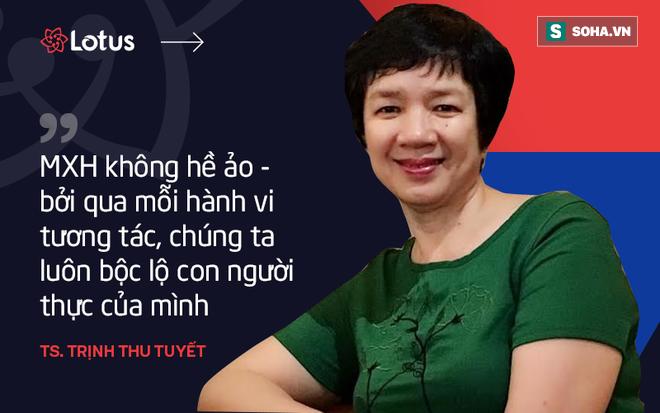 Tiến sĩ Trịnh Thu Tuyết: Tôi hy vọng năng lượng tích cực từ MXH Lotus sẽ thay đổi tâm lý người Việt - Ảnh 2.