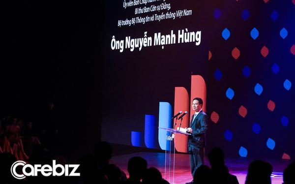 Bộ trưởng TTTT Nguyễn Mạnh Hùng nói về MXH Lotus: Rồi những startup sẽ thay thế những gã khổng lồ, các startup Việt nên có niềm tin này để khởi nghiệp - Ảnh 1.