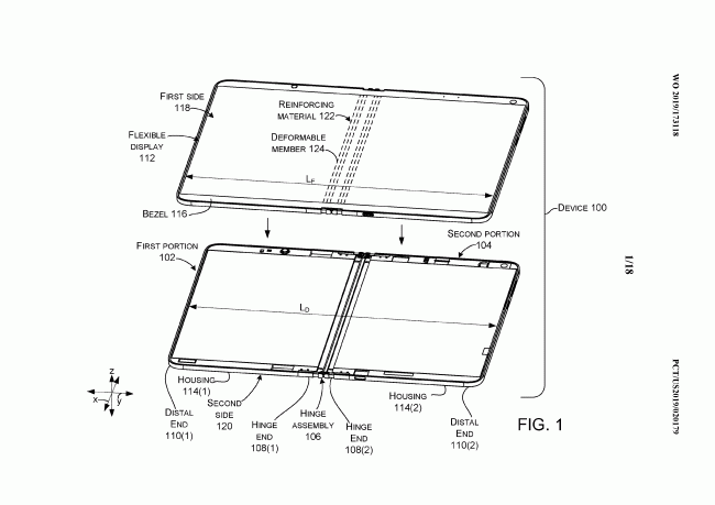 Thiết bị Surface màn hình kép của Microsoft có thể sử dụng bản lề chất lỏng - Ảnh 1.