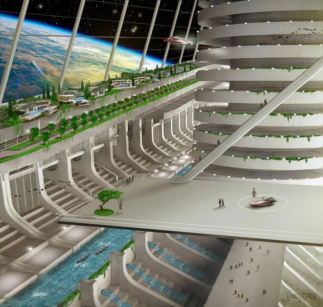 Đề phòng Trái Đất diệt vong, quốc gia vũ trụ Asgardia sẽ xây dựng thành phố ngoài không gian làm nơi ở cho 15 triệu người - Ảnh 4.