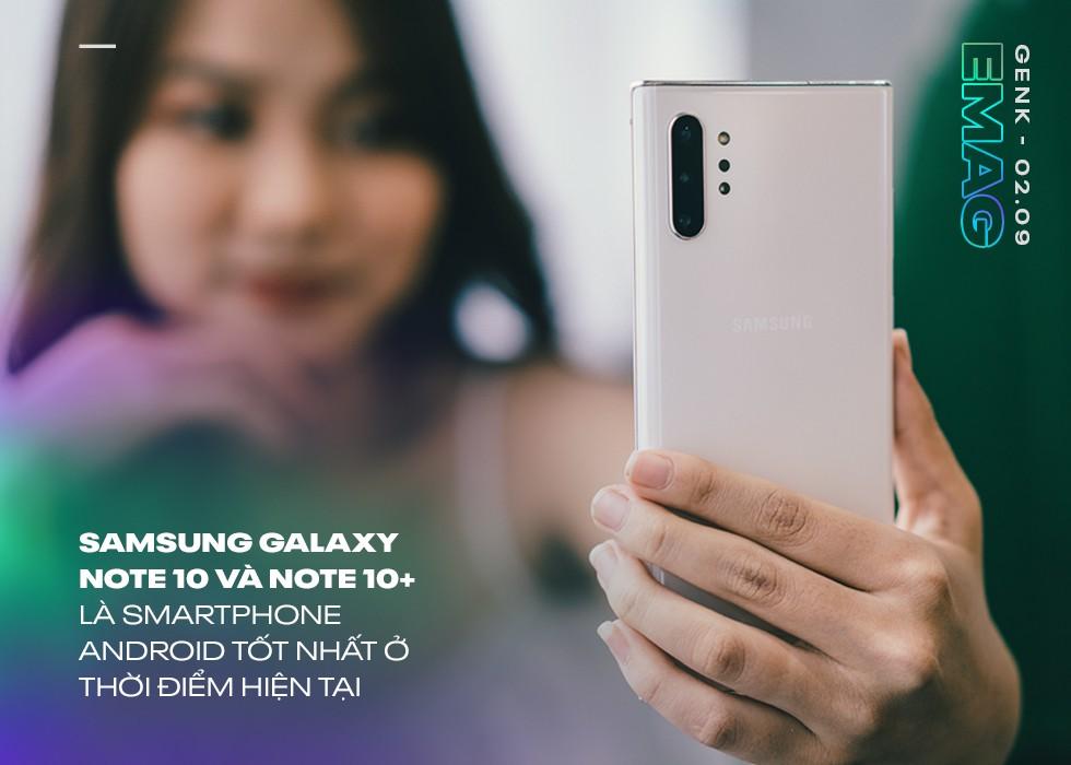 Đánh giá Samsung Galaxy Note 10: Vẫn là ông vua, dù không còn là người dẫn đầu - Ảnh 1.
