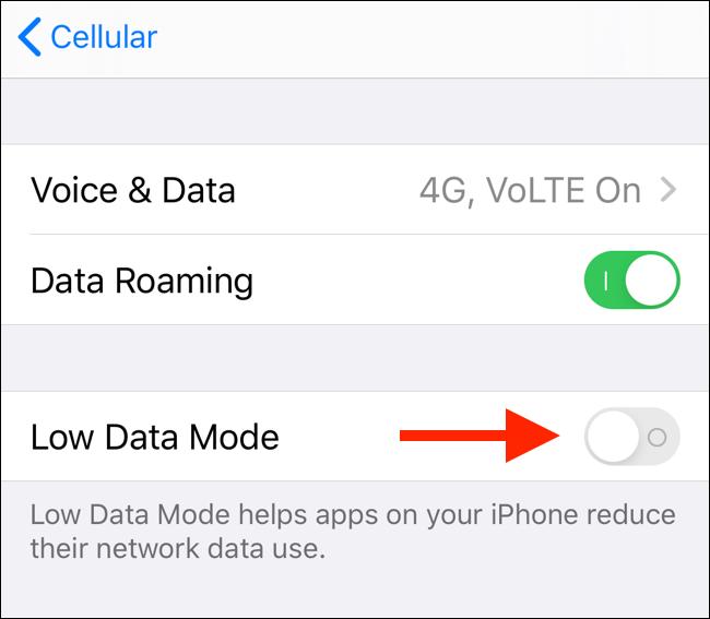 Cách tiết kiệm dung lượng 3G/4G trên iPhone chạy iOS 13 - Ảnh 4.
