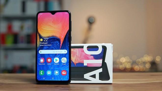 Samsung được đồn đoán đang phát triển smartphone giá rẻ mới: Kích thước 5,7 inch, màn hình giọt nước, cài đặt Android 9 - Ảnh 1.