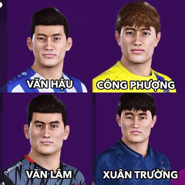 Game thủ Việt tung bản mod chỉnh sửa khuôn mặt Văn Hậu, Văn Lâm trong PES 2020, cho phép trực tiếp điều khiển ĐTQG Việt Nam thi đấu - Ảnh 1.