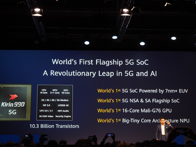 CEO Huawei lại chém gió, cho rằng chip Kirin 990 quá mạnh, vì vậy không cần tới lõi CPU mới nhất của ARM - Ảnh 2.
