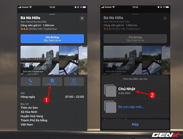 iOS 13: Lên danh sách địa điểm trong Maps để vi vu ngày cuối tuần trên iPhone - Ảnh 6.