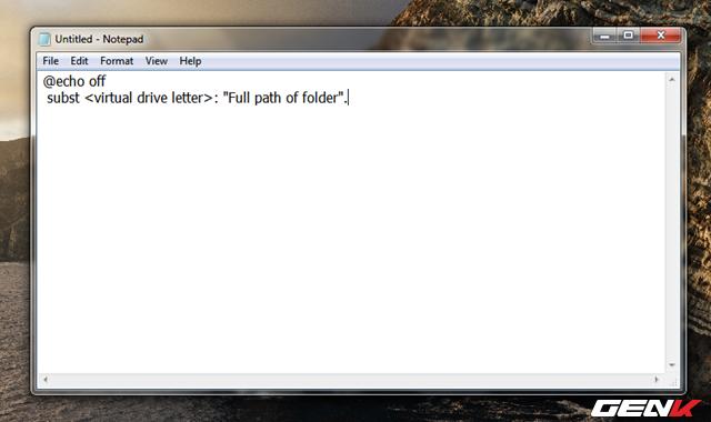 Hô biến thư mục thành ổ đĩa ảo trên Windows 10 - Ảnh 7.