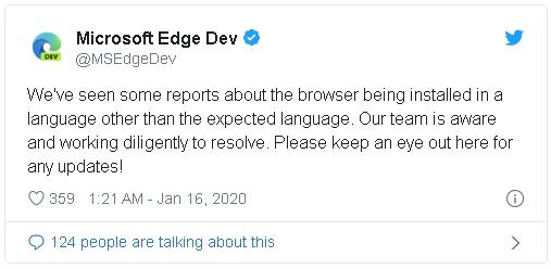 Đúng truyền thống Microsoft: Trình duyệt Edge Chromium mới vừa ra mắt đã dính lỗi cài đặt - Ảnh 1.