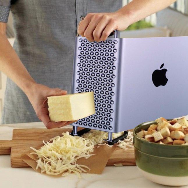 Điều gì sẽ xảy ra khi bạn đem chiếc Mac Pro 6000 USD đi nạo phô mai? - Ảnh 2.