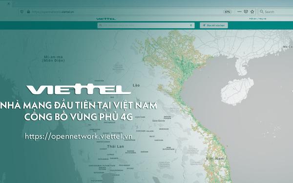 Viettel công bố bản đồ phủ sóng 4G, giờ thì người Việt đã kiểm tra được chất lượng mạng 4G mình đang sử dụng - Ảnh 1.