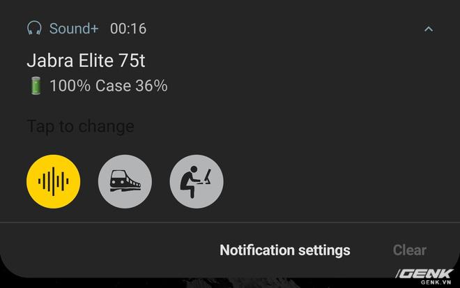 Trải nghiệm tai nghe true-wireless Jabra Elite 75t: Phá tan sự nhàm chán - Ảnh 12.
