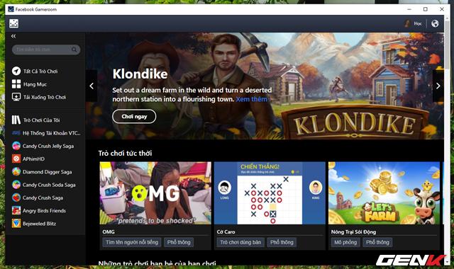 Khám phá kho game khổng lồ hàng triệu trò chơi Facebook từ Desktop Windows - Ảnh 5.