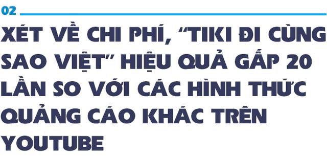 Phó TGĐ Tiki: Đầu tư vào hàng trăm MV của sao Việt hiệu quả gấp 20 lần các hình thức quảng cáo trên Youtube! - Ảnh 4.