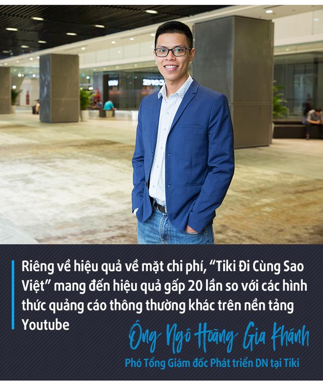 Phó TGĐ Tiki: Đầu tư vào hàng trăm MV của sao Việt hiệu quả gấp 20 lần các hình thức quảng cáo trên Youtube! - Ảnh 5.