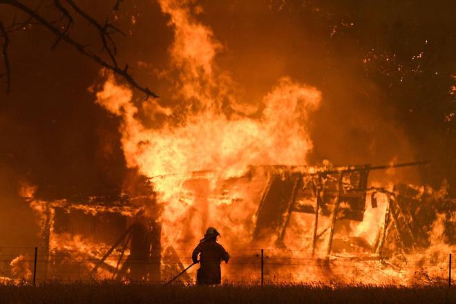 Đại thảm họa cháy rừng Úc nhìn từ không gian: Cả nước như quả cầu lửa, những mảng xanh trù phú bị thay bằng màu khói trắng tang thương - Ảnh 14.