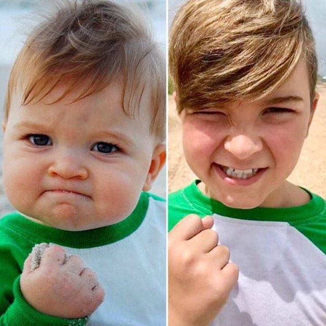 Cuộc sống hiện tại của cậu bé ảnh chế đình đám một thời: Gia đình gặp biến cố, nhờ một bức ảnh mà cứu sống được bố - Ảnh 3.