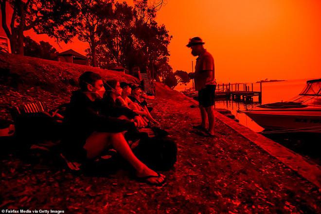 Đại thảm họa cháy rừng Úc nhìn từ không gian: Cả nước như quả cầu lửa, những mảng xanh trù phú bị thay bằng màu khói trắng tang thương - Ảnh 27.
