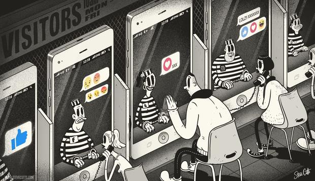 Hình ảnh xót xa khiến chúng ta tỉnh ngộ nhận ra thực tế đáng buồn của xã hội: Tiến hóa thành ghế, làm 'tù nhân' của smartphone - Ảnh 6.