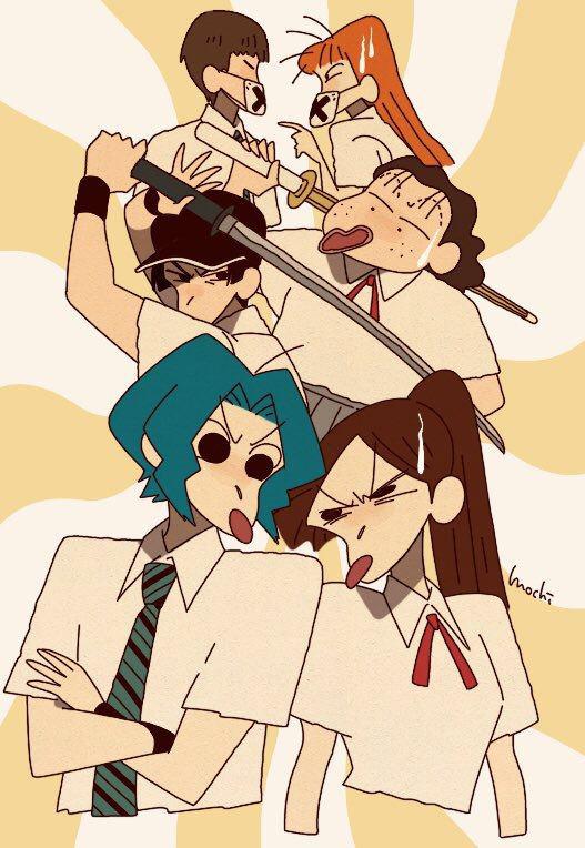Từ Conan, One Piece tới Dragon Ball đều hóa Shin - Cậu bé bút chì qua bộ fan art vui nhộn - Ảnh 17.