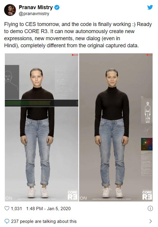 Dự án Người nhân tạo của Samsung có thật và chúng chân thực ngoài sức tưởng tượng - Ảnh 1.