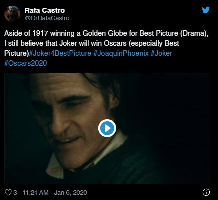 """Quả cầu vàng 2020: Fan """"cay cú"""" khi Joker để tuột giải vào tay một bộ phim còn chưa công chiếu - Ảnh 4."""