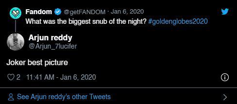"""Quả cầu vàng 2020: Fan """"cay cú"""" khi Joker để tuột giải vào tay một bộ phim còn chưa công chiếu - Ảnh 7."""