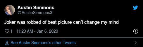 """Quả cầu vàng 2020: Fan """"cay cú"""" khi Joker để tuột giải vào tay một bộ phim còn chưa công chiếu - Ảnh 8."""