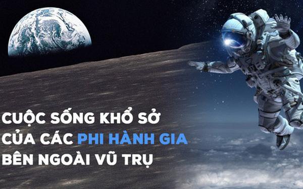 Nghe phi hành gia kể khổ về cuộc sống trên vũ trụ: Ăn cơm như nhai rơm rạ, đi tiểu bằng ống, chỉ để đổi lại khoảnh khắc mà chưa đầy 600 người trên Trái Đất có được - Ảnh 1.