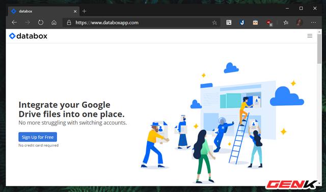 Quản lý cùng lúc nhiều tài khoản Google Drive với Databox - Ảnh 3.