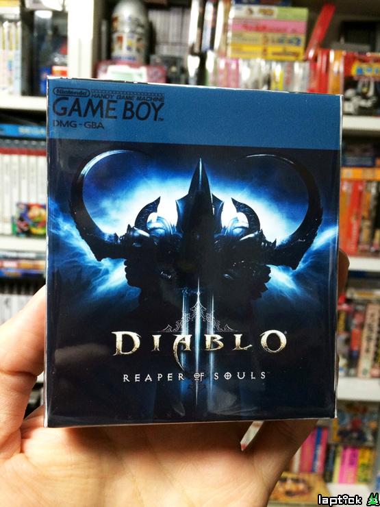 Độc đáo phiên bản Diablo III: Reaper of Souls trên Gameboy 5
