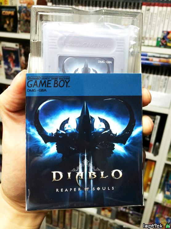 Độc đáo phiên bản Diablo III: Reaper of Souls trên Gameboy 10