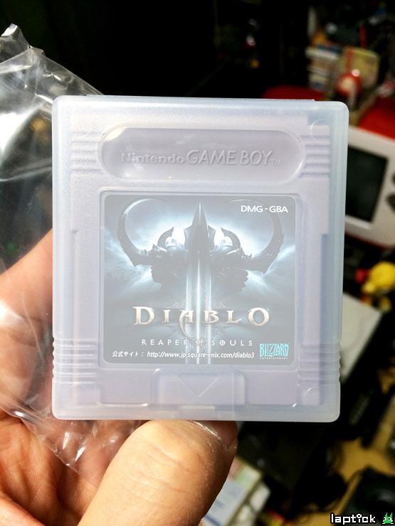 Độc đáo phiên bản Diablo III: Reaper of Souls trên Gameboy 11