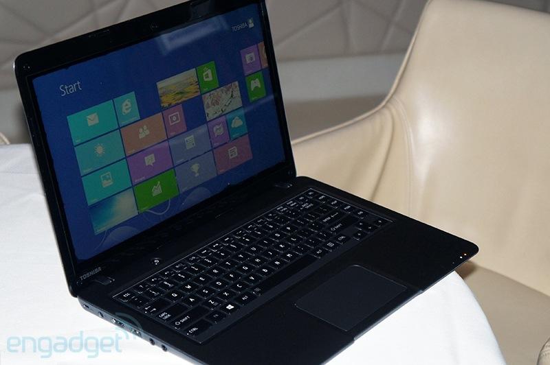 Toshiba giới thiệu laptop màn hình cảm ứng giá rẻ Satellite U845t 4