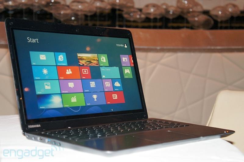 Toshiba giới thiệu laptop màn hình cảm ứng giá rẻ Satellite U845t 5