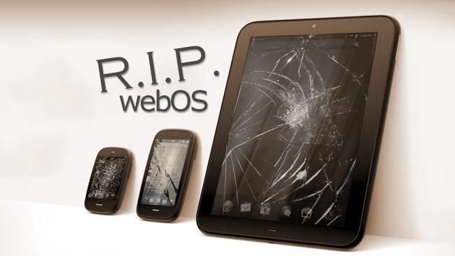 Hệ điều hành di động webOS đã chết 1