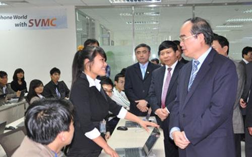 Samsung tính xây trung tâm phần mềm 15.000m2 tại Hà Nội 1
