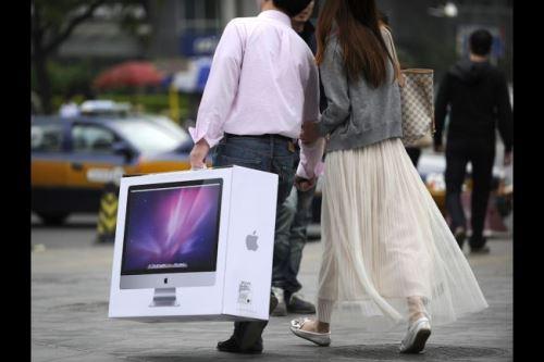"""Trung Quốc lại """"cắn"""" Apple 1"""