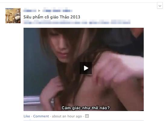 Cộng đồng Facebook tức giận vì nạn dùng hình sexy để spam 1