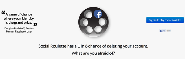 Facebook xóa ứng dụng tự tử dạng 'cò quay Nga' 1