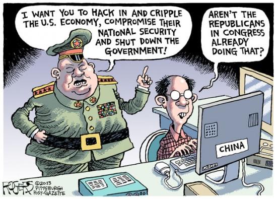 Tin tặc Trung Quốc quay trở lại phá bĩnh cuộc sống người Mỹ 1