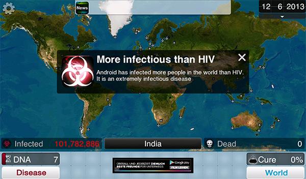 Plague Inc.: Đại dịch toàn cầu 2