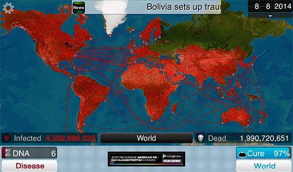 Plague Inc.: Đại dịch toàn cầu 1