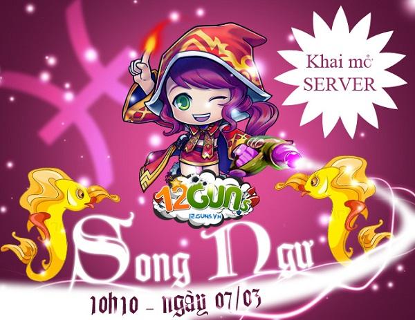 Game mobile 12Guns và MC Võ Lâm 3 mở server cùng ngày 5