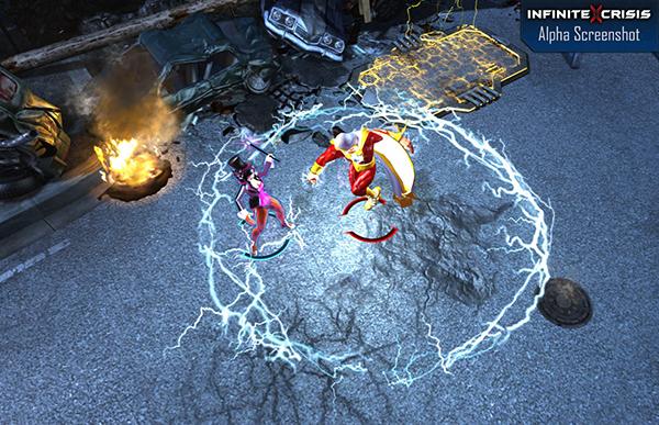 Infinite Crisis, MOBA dựa trên thế giới siêu anh hùng DC hé lộ 3