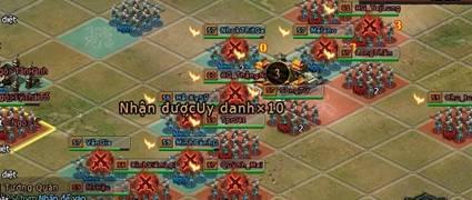 Những trận tứ quốc diễn nghĩa đầu tiên trong Đại Tướng Quân 4
