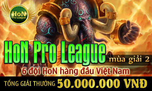 Điểm mặt 6 đội tranh tài tại HoN Pro League mùa giải 2 1