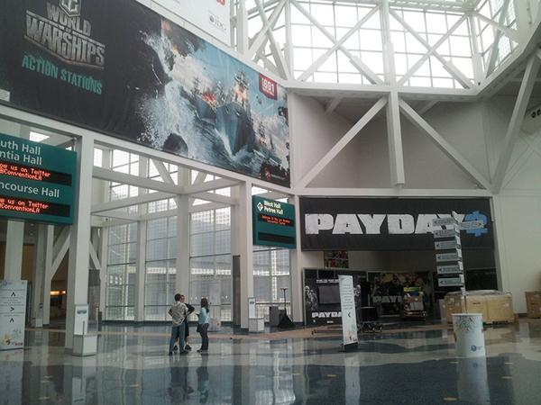 Quang cảnh E3 2013 trước giờ khai mạc 10